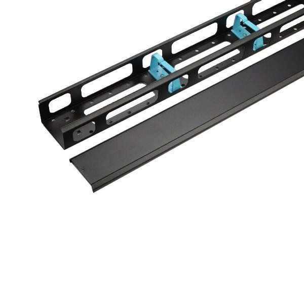 WP 32U vertical cable management with cap for RNA & RSB 800mm wide rack